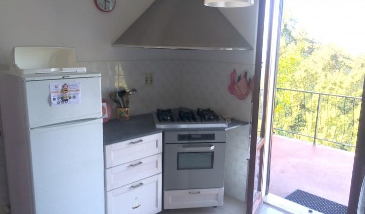 Cucina lato fuochi