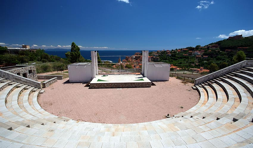 L'anfiteatro a Rio Marina - Isola d'Elba