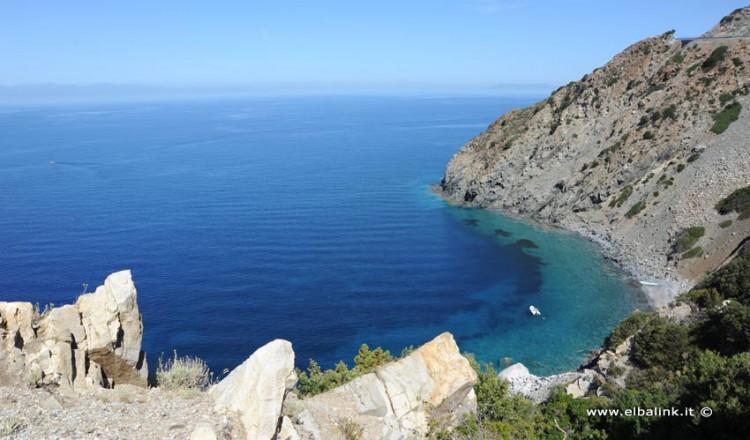 Spiaggia di Punta Nera - Isola d'Elba