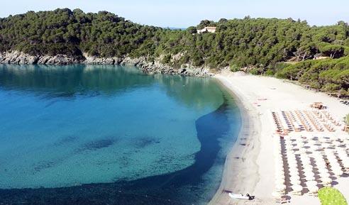 Spiaggia di Fetovaia, Elba