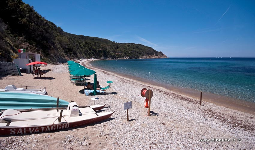 Spiaggia dei Prunini, Elba