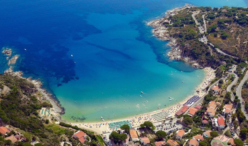 Spiaggia di Cavoli, Elba