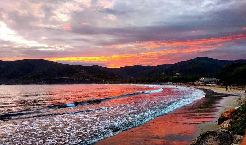 Spiaggia di Lacona, Elba