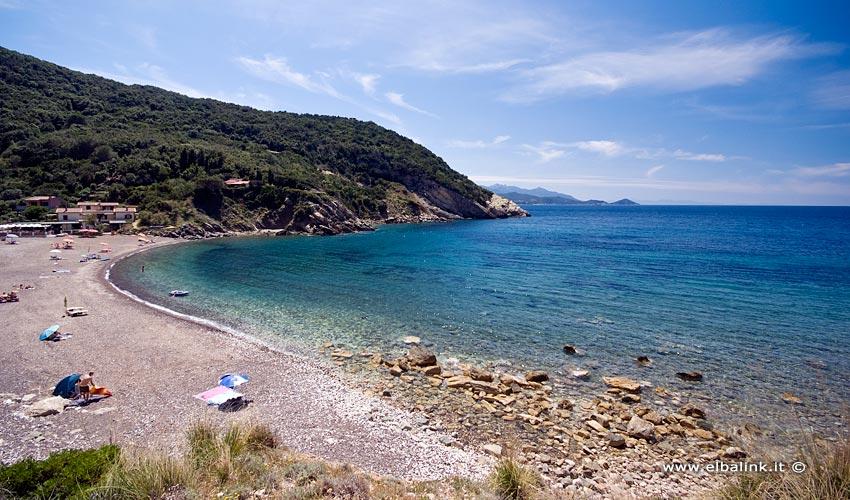 Spiaggia di Nisportino, Elba