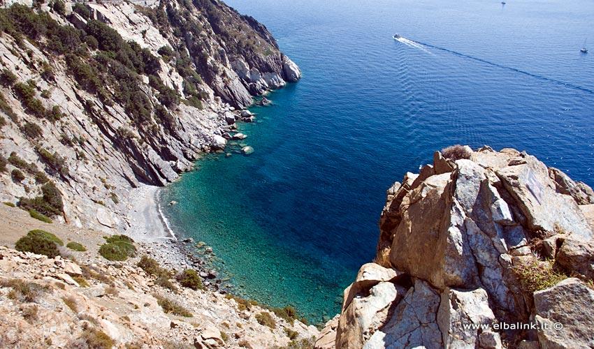 Spiaggia di Punta Nera, Elba