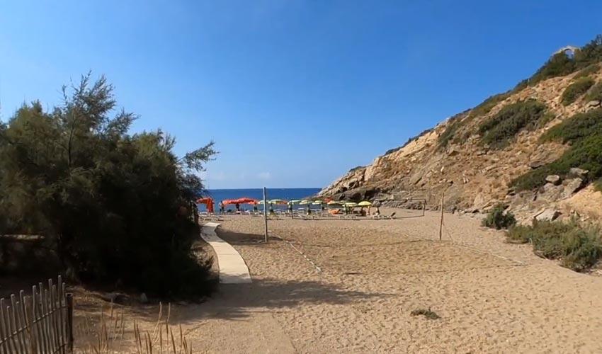 Spiaggia di Remaiolo, Elba