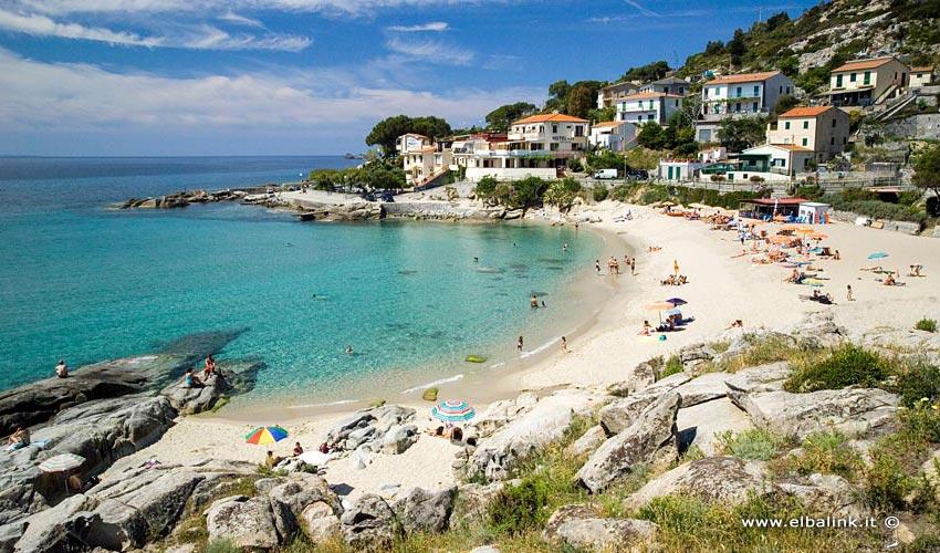 Spiaggia di Seccheto, Elba