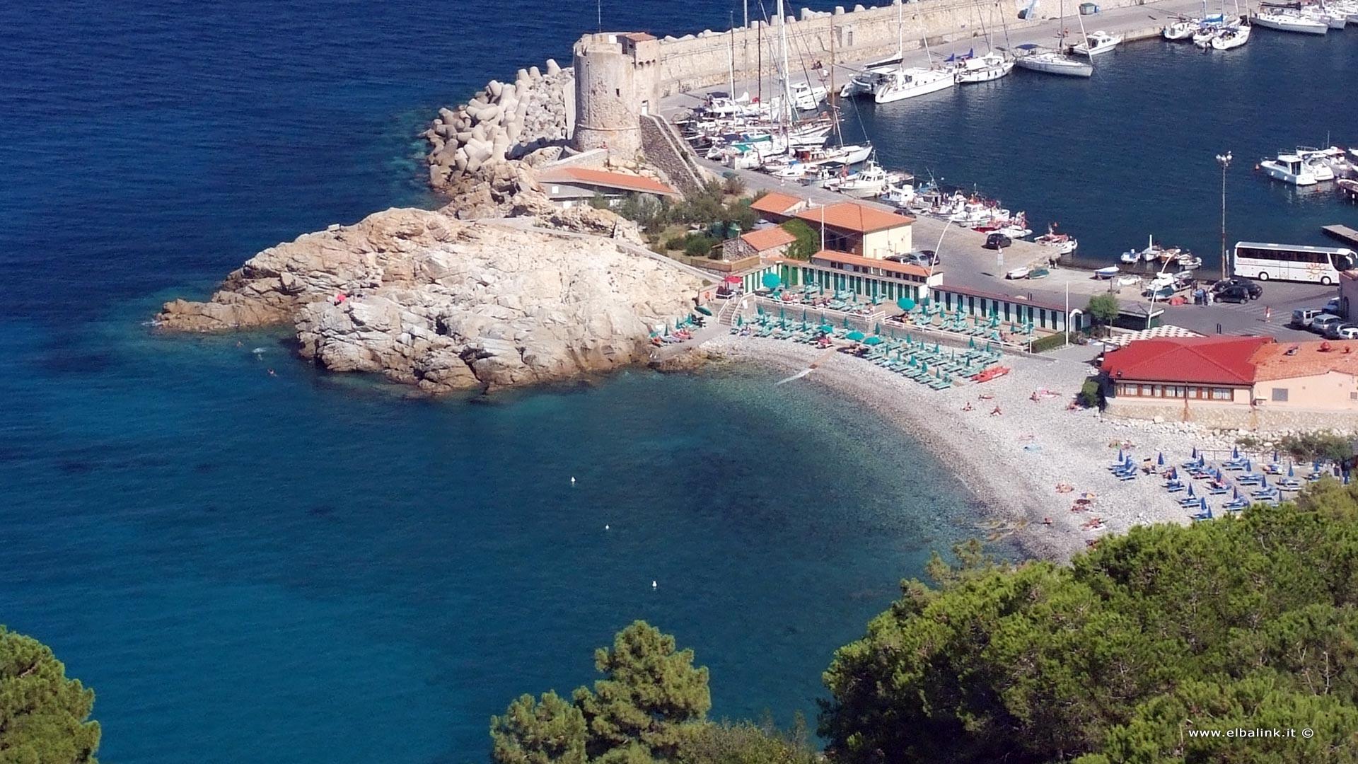 Strand della Fenicia in Marciana Marina, Insel Elba